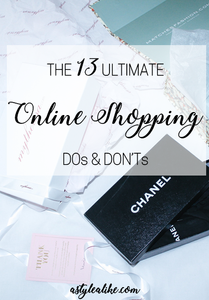 The 13 Ultimate Online Shopping Dos and Don'ts