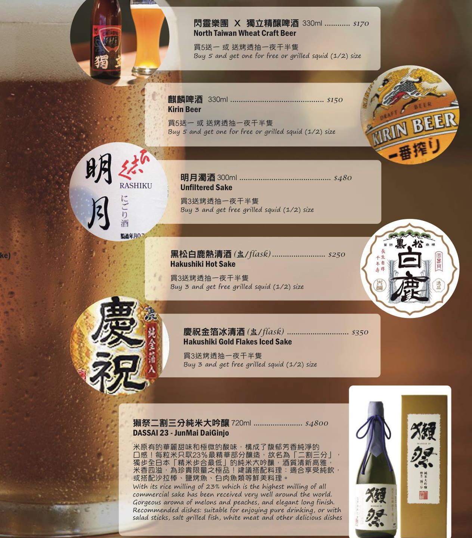 NCISushi Taipei (A Style Alike) Menu 9
