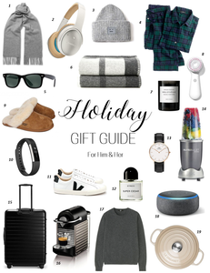 Holiday Gift Guide & Giveaway l A Style Alike l Lifestyle