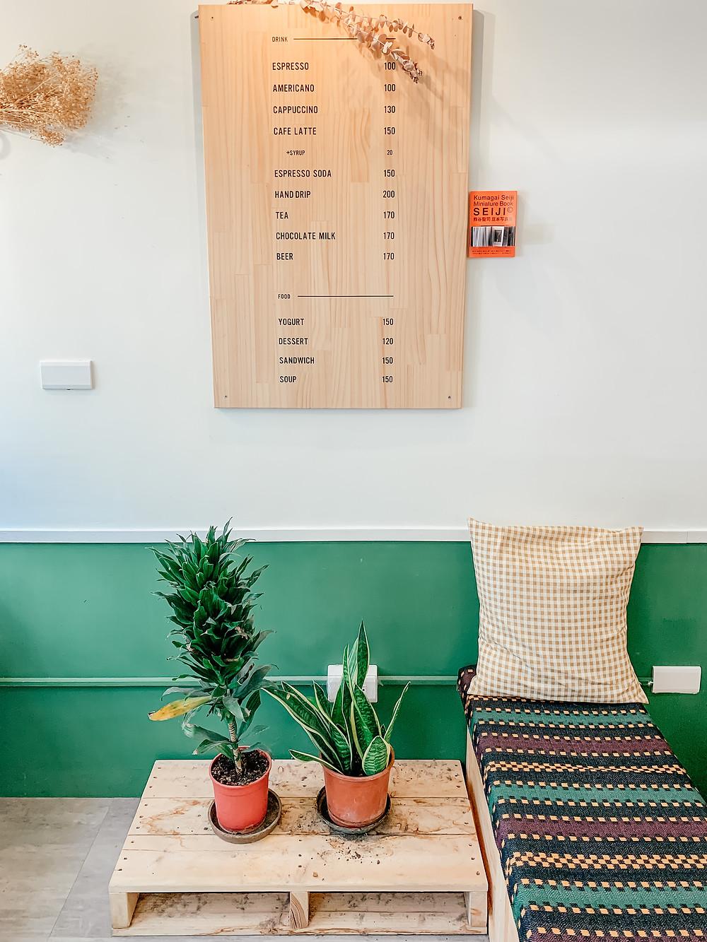 月半 Dwaco 咖啡 Coffee | Taipei Cafe | Menu | A Style Alike