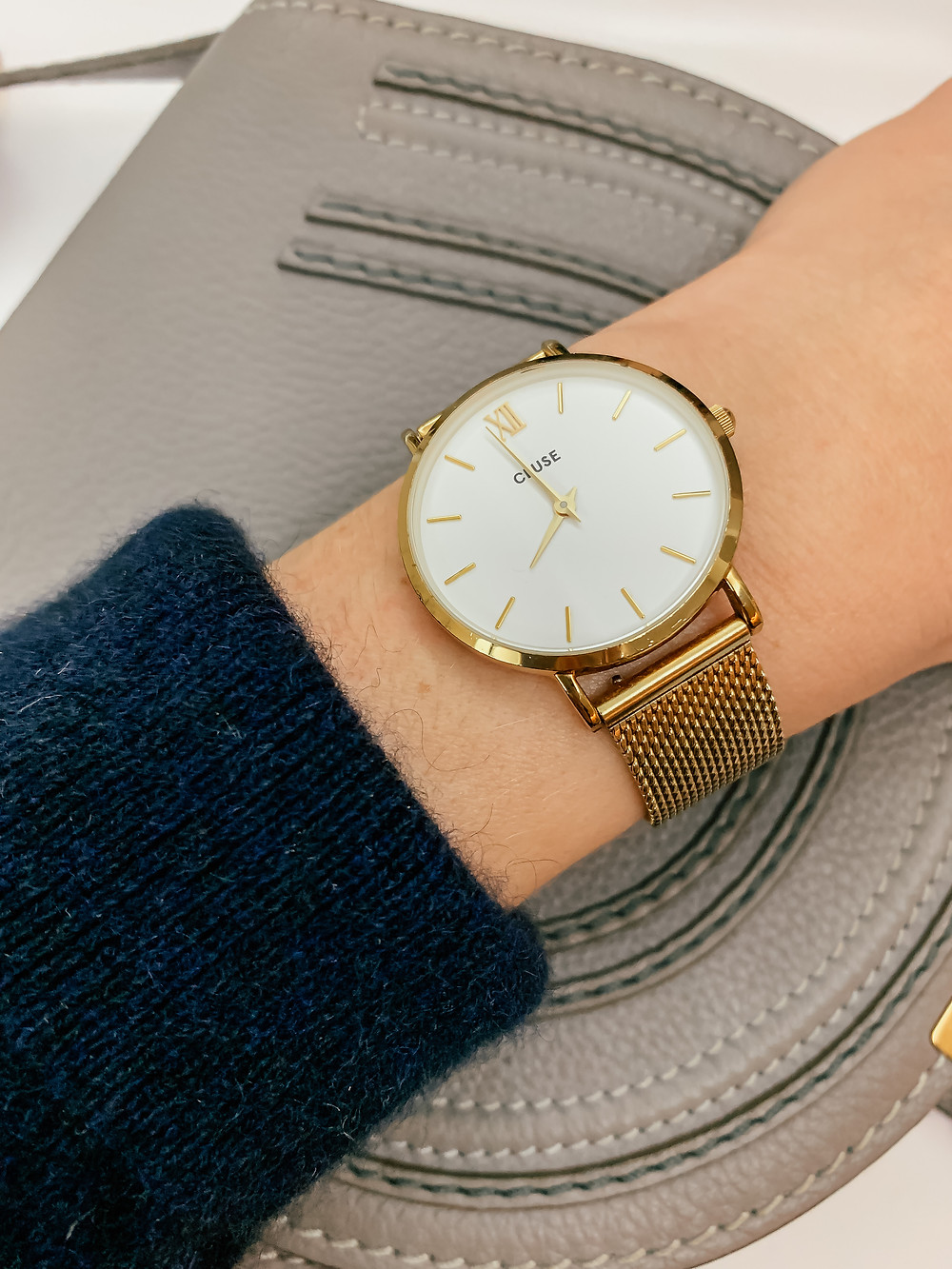 CLUSE Minuit Mesh watch in Gold | 8 Most-Worn Jewelry Pieces | Fashion | A Style Alike