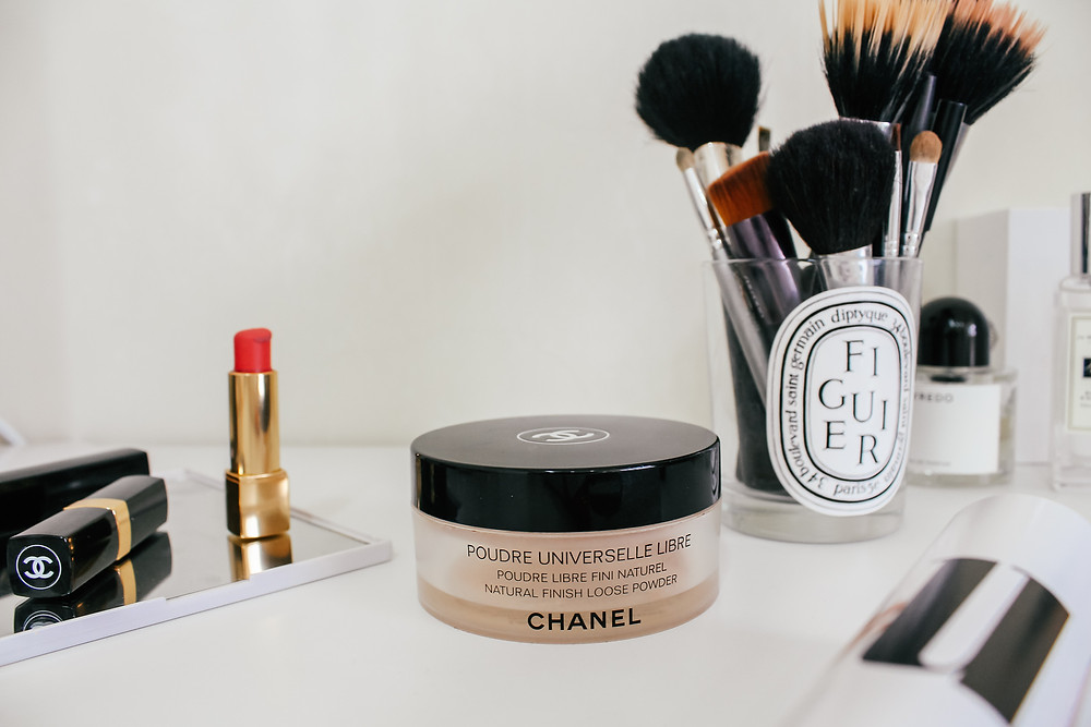 Chanel Poudre Universelle Libre.What's In My Makeup Bag l Makeup Routine l A Style Alike l Beauty