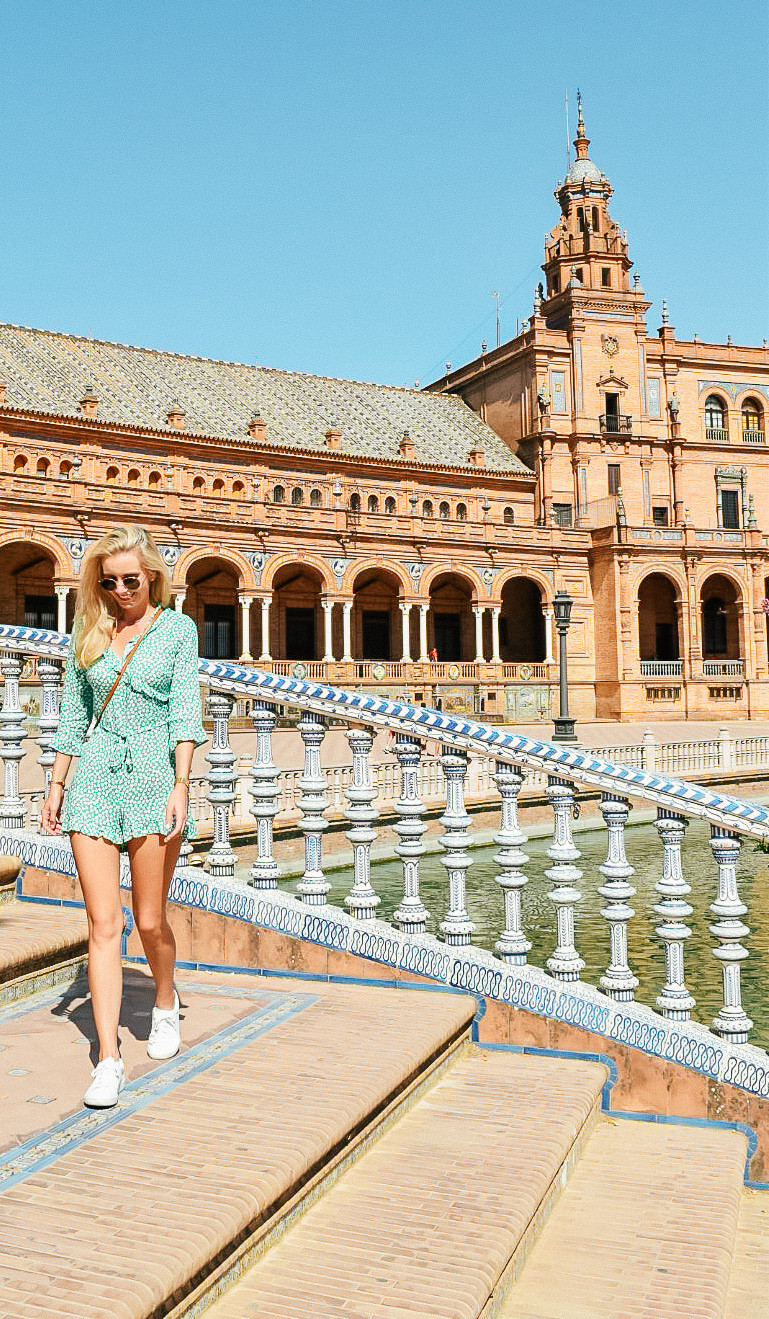 What I Wore on Vacation | Summer 2018 | Topshop Print playsuit | A Style Alike