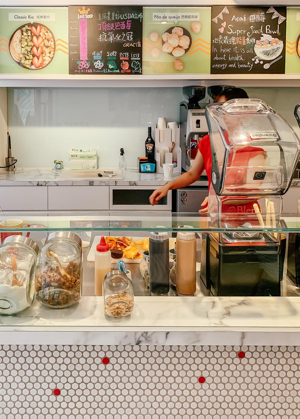 AMAVIE 巴西苺 | Taipei Acai Cafe | A Style Alike