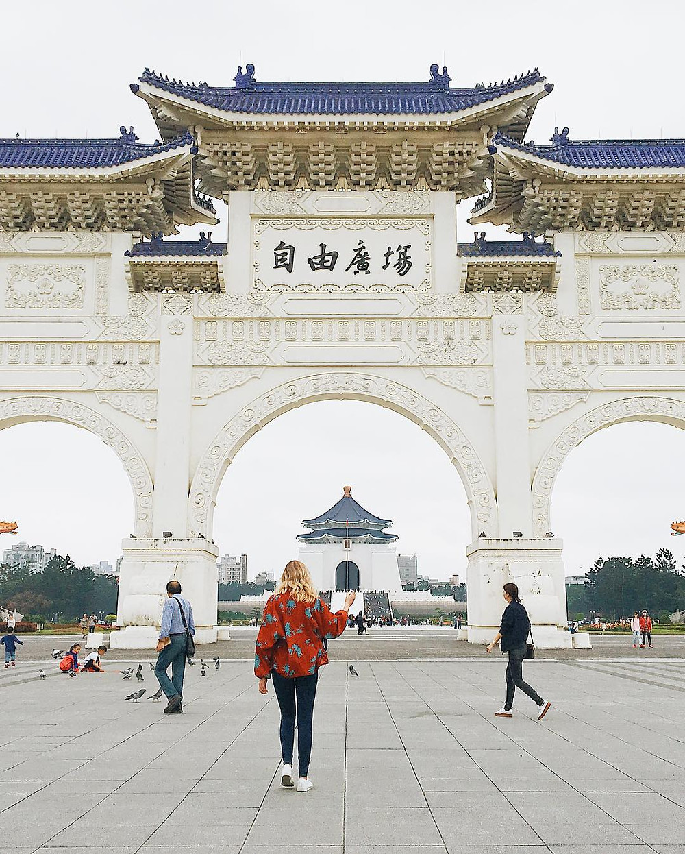 Chiang Kai-shek Memorial Hall   14 Popular Instagram Spots in Taipei   Travel   A Style Alike