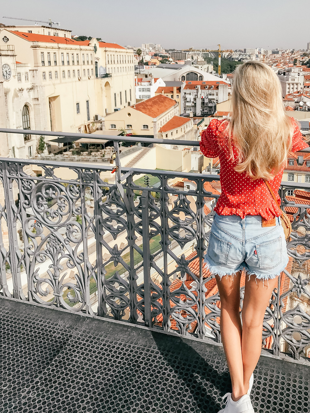 What I Wore on Vacation | Summer 2018 | Levi's 501 shorts | A Style Alike