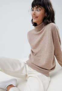 ASOS WHITE 100% Cashmere Sweater | 20 Cozy Knits for Fall 2018 | Fashion | A Style Alike