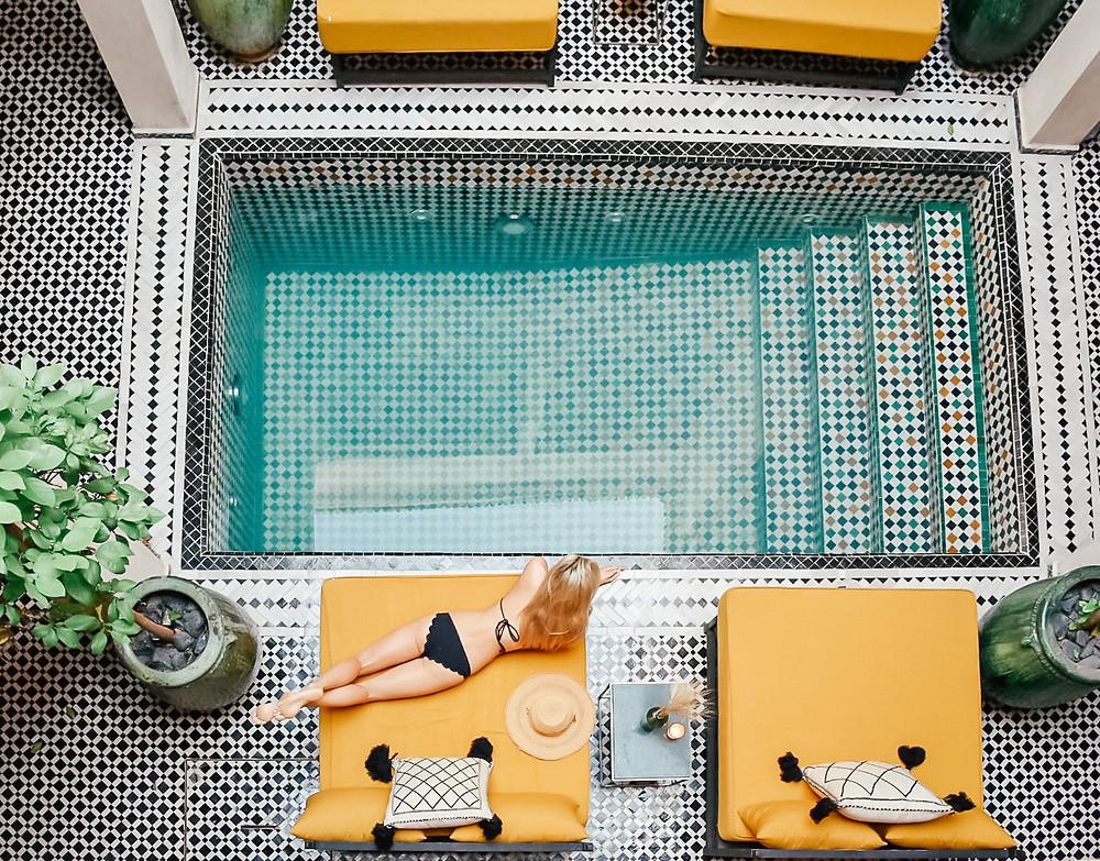 What I Wore on Vacation | Summer 2018 | Marysia Broadway bikini | A Style Alike
