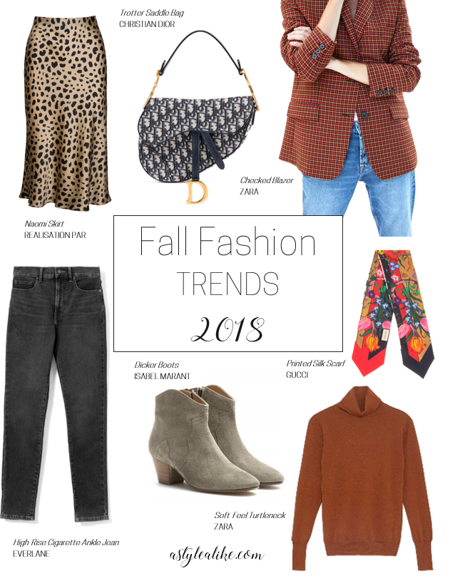 7 Fall Fashion Trends l A Style Alike l Fashion