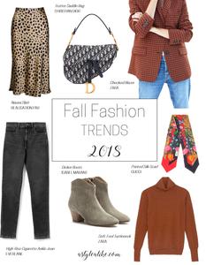 7 Fall Fashion Trends l A Style Alike l Fashion