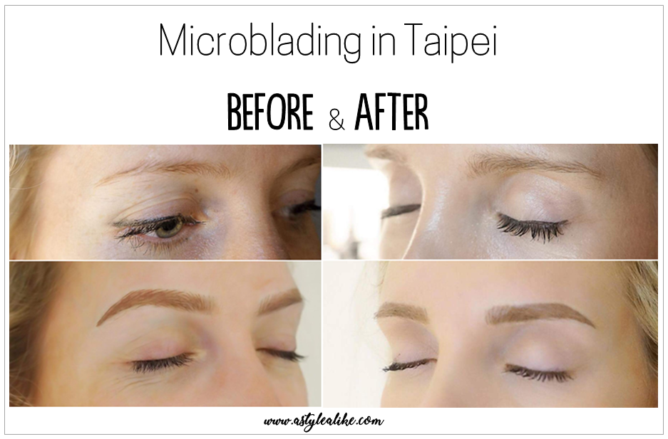Eyebrows Microblading │ Before and After │ A Style Alike │ Taipei