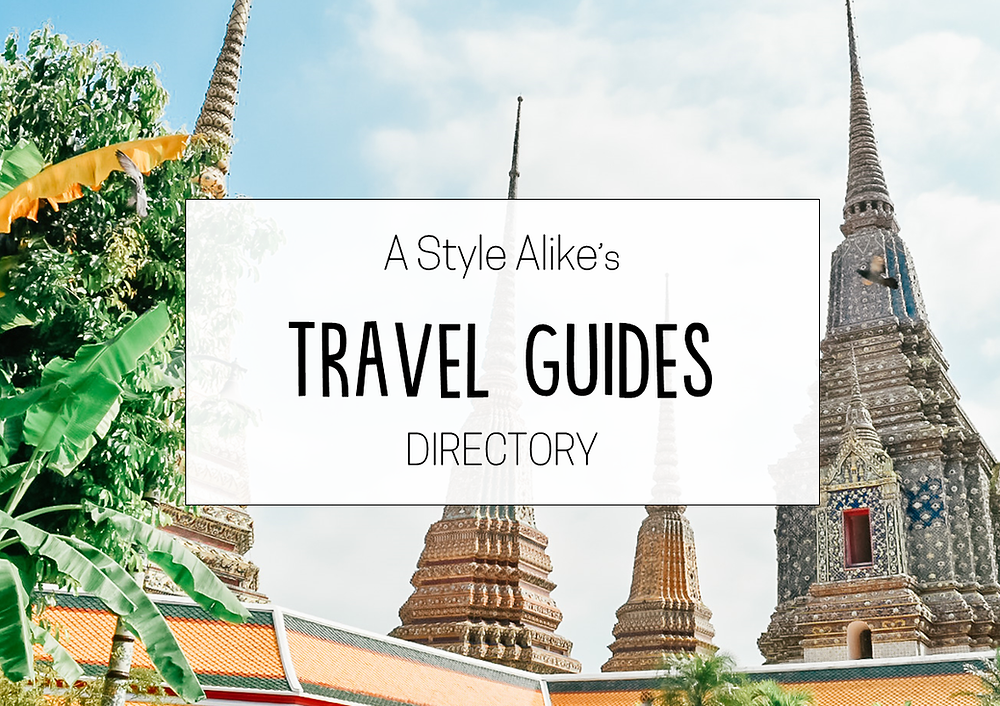 Travel Guides Directory | A Style Alike
