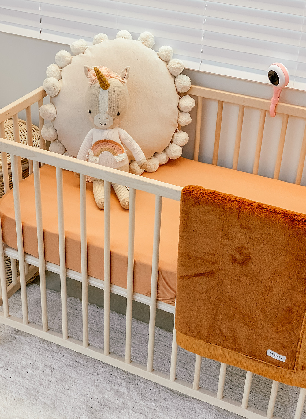 Liesl's Baby Nursery Reveal | Bohemian, Soft & Neutral | Baby Room Design and Decor | A Style Alike