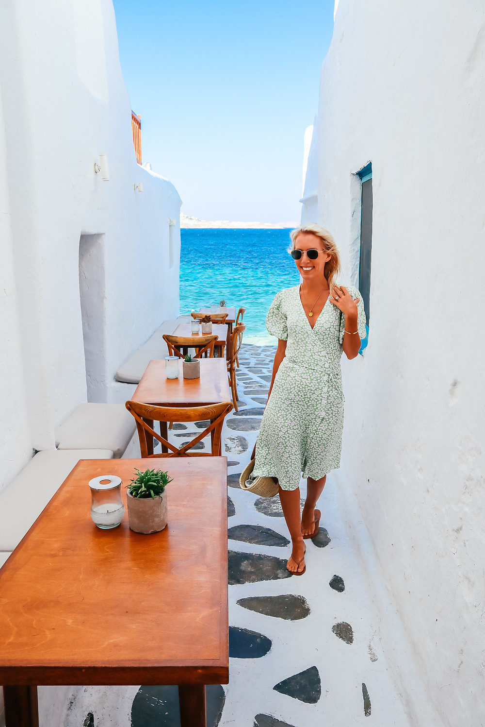 What I Wore in Greece l Outfit Ideas l Travel l A Style Alike