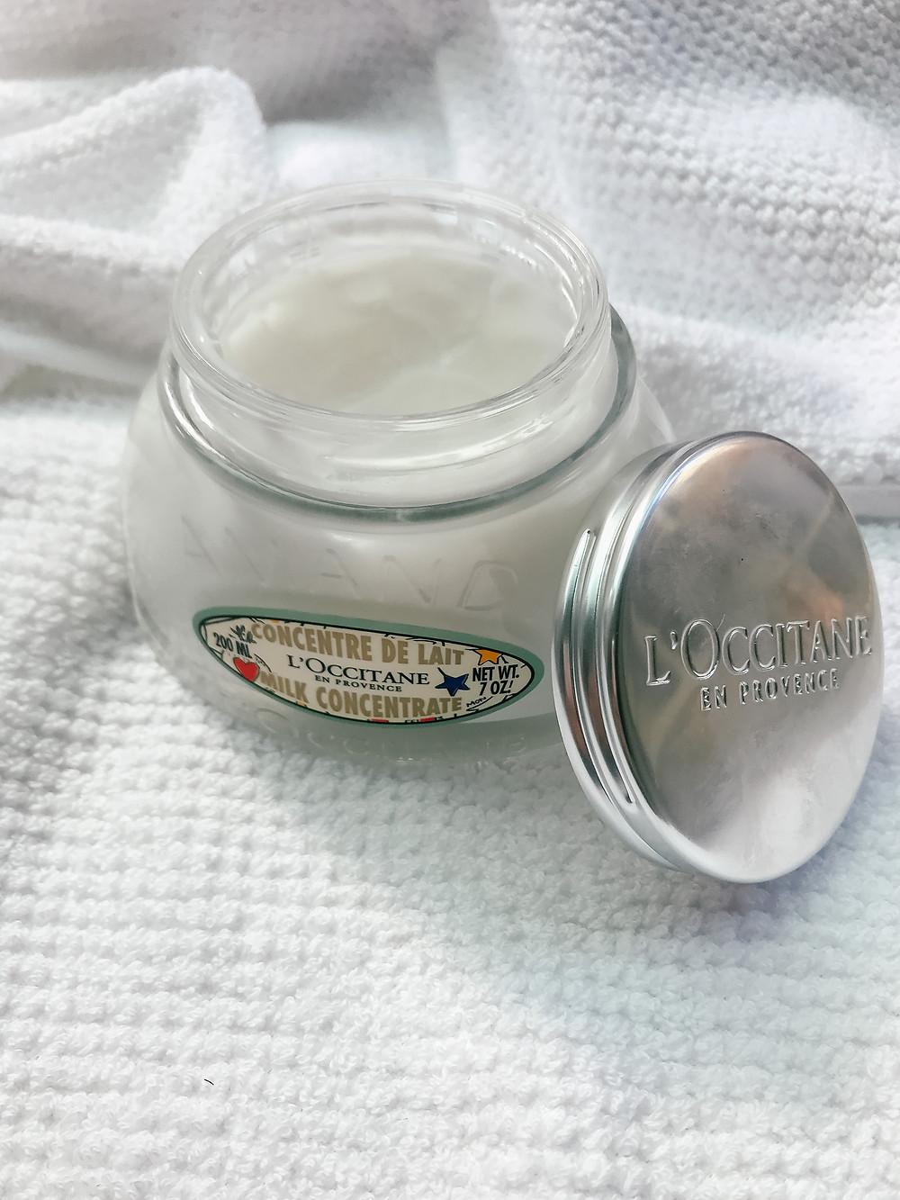 L'Occitane Almond Milk Concentrate l November Favorites 2018 l Bath & Body Products l Beauty l A Style Alike