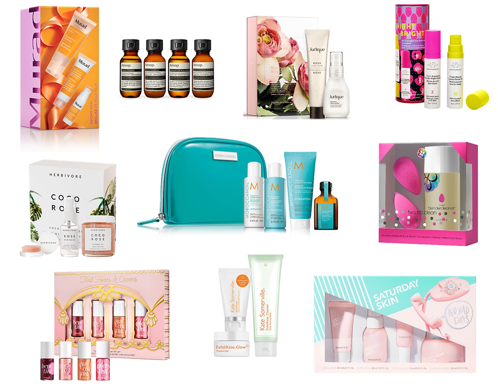 20 Beauty Gift Sets Under $50 l A Style Alike l Holiday Gift Guide