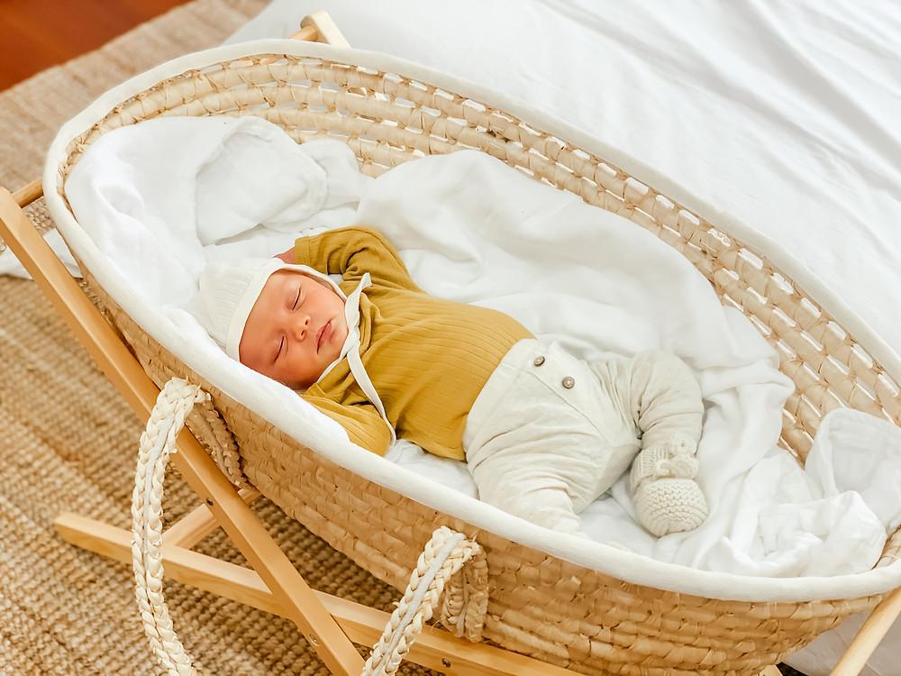 Nursery Reveal l Natural Modern Decor l Gender Neutral Nursery