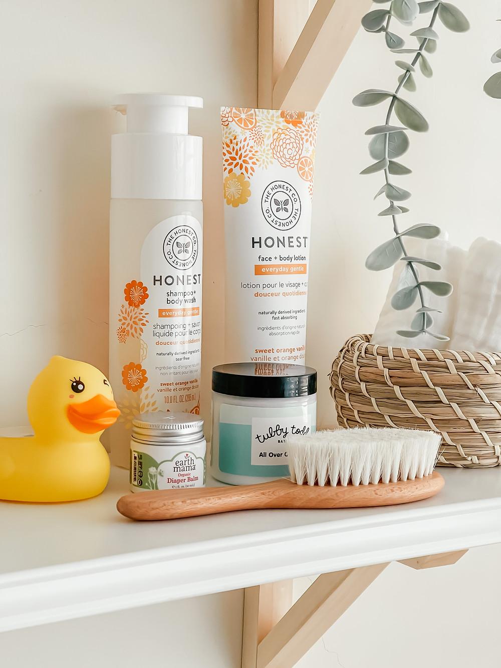 Baby Bath Time Favorites