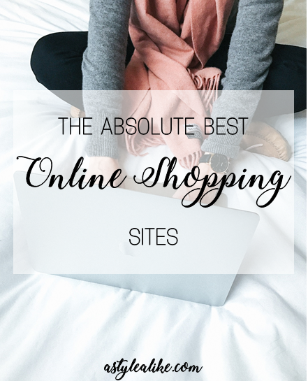 The Absolute BEST Online Shopping Sites