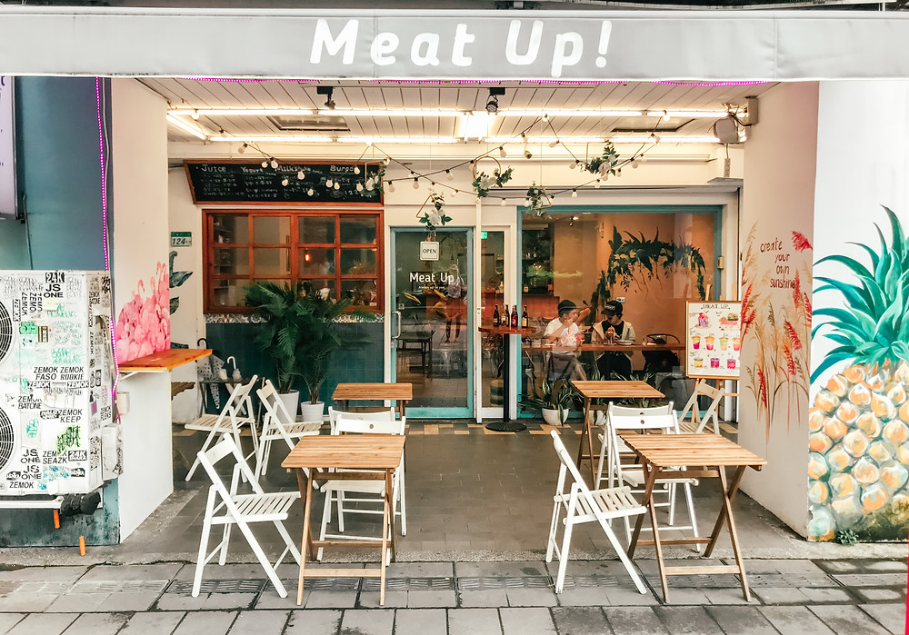 Meat Up l Taipei Cafe l Food l A Style Alike