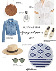 Spring/Summer Must-Haves 2017