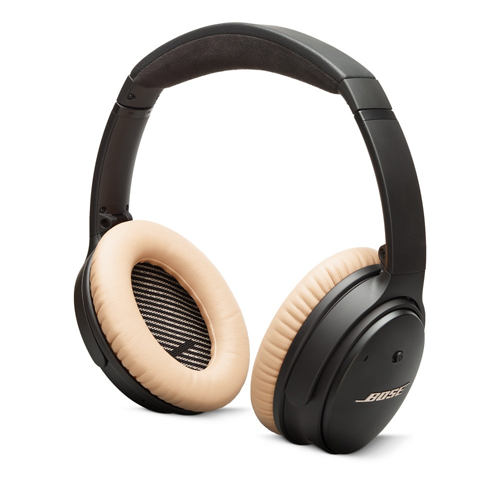 BOSE QuietComfort 25 Noise Cancelling headphones┃ 10 Essential Airplane Carry-On Accessories ┃ A Style Alike