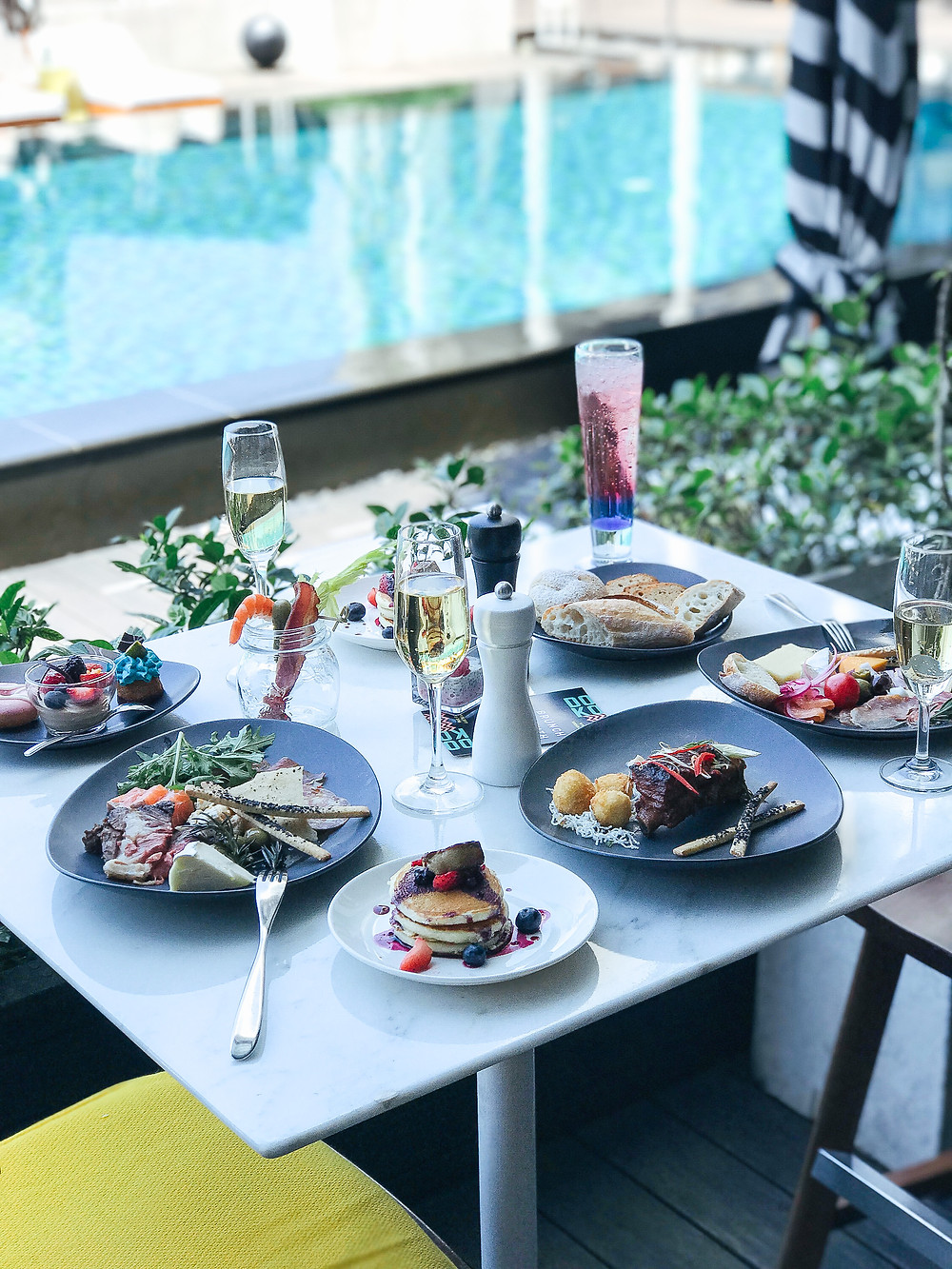 The Kitchen Table at W TAIPEI | 7 Taipei Brunch Spots with Outdoor Seating | Food | A Style Alike