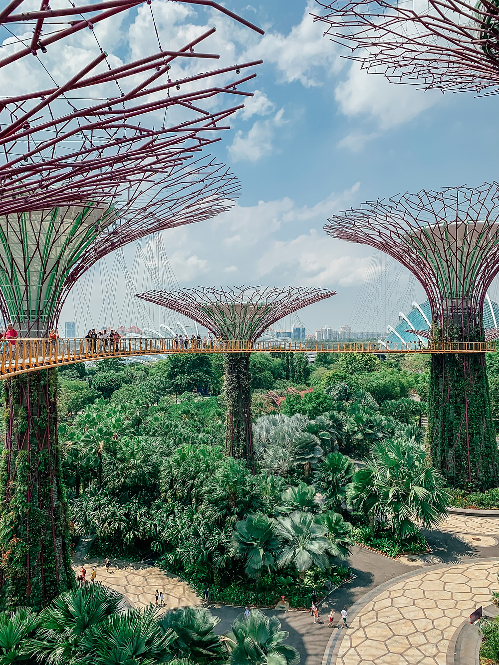 A Guide to Singapore | Gardens by the Bay Super Grove | A Style Alike