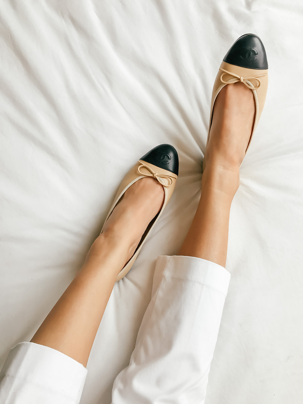 Classic Flats | CHANEL Two-Tone Espadrilles & Ballerinas Review | A Style Alike