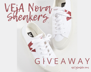 2020 Summer GIVEAWAY | VEJA Nova Sneakers | A Style Alike