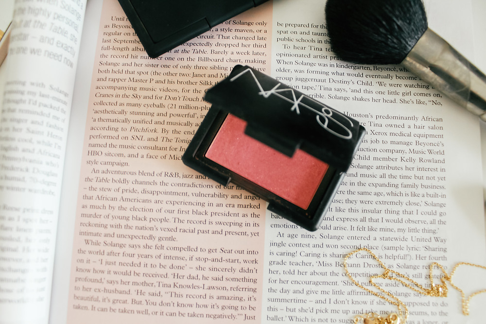 NARS Blush Angelica.What's In My Makeup Bag l Makeup Routine l A Style Alike l Beauty