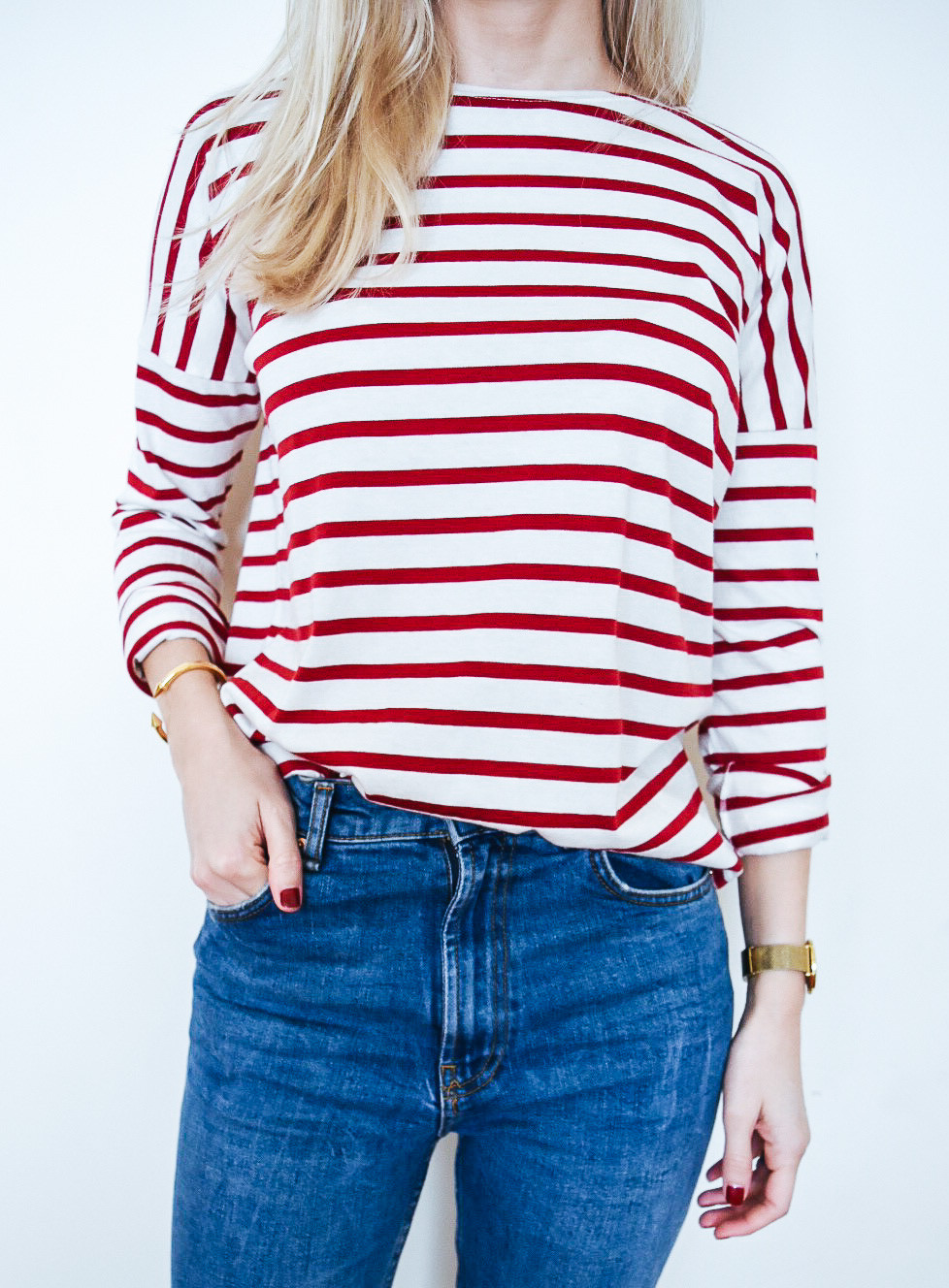 Saint James x J.Crew Slouchy Tee