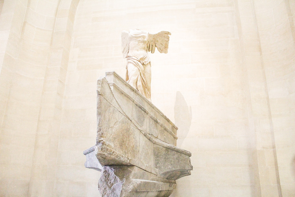 Winged Victory Louvre Museum lA Guide to Paris l Travel Guide Paris l Week in Paris l A Style Alike