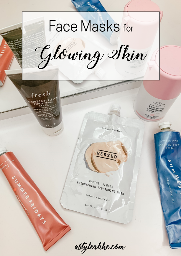 Face Masks For Glowing Skin | Beauty | A Style Alike