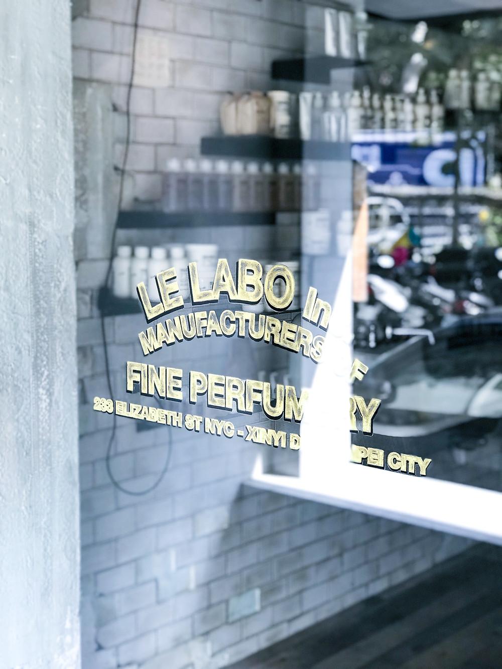 Le Labo Fragrance Store Taipei
