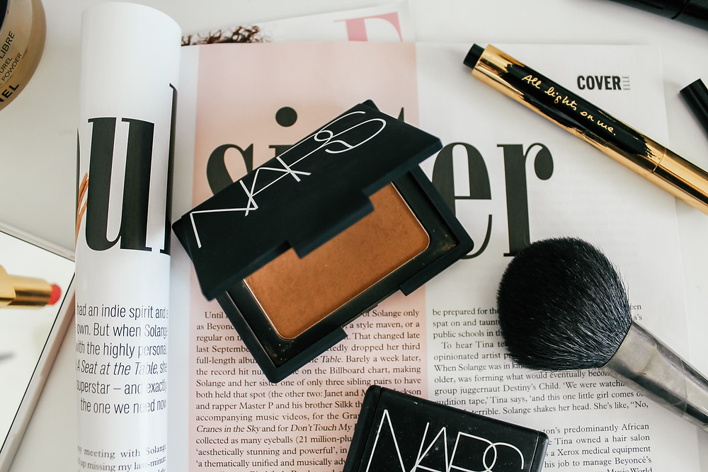 NARS Bronzing Powder Laguna.What's In My Makeup Bag l Makeup Routine l A Style Alike l Beauty