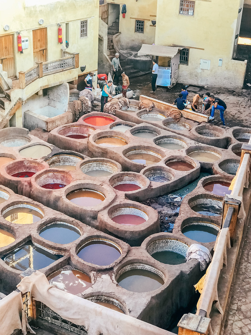 Chouara Tannery | Fes | A Guide to Morocco | A Style Alike