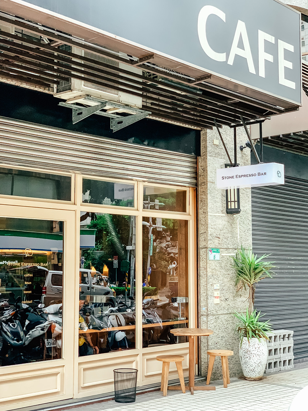 Stone Espresso Bar l Taipei Coffee Shop