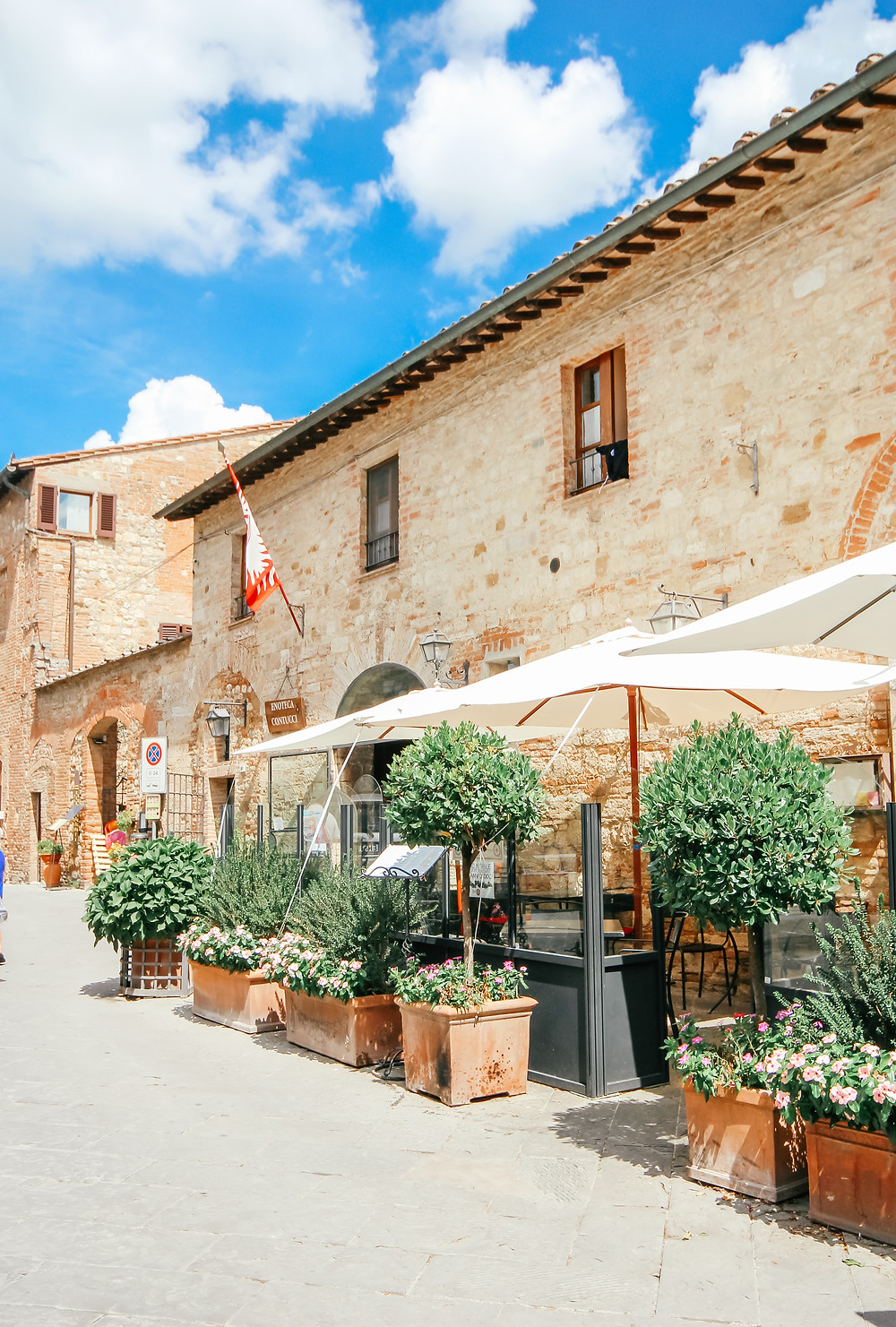 I've long been mesmerized by die striking beauty of Tuscany; the rolling hills of green vineyards adorned with cypress trees, the elegant, yet rustic farmhouses, the magical sunsets and of course, the wine! Being both wine lovers (As South Africans are!), The Husband and I couldn't wait to tick this dreamy location off our bucket list, and last summer we finally had the opportunity to do so. After exploring the dreamy Amalfi Coast (You can see my guide to Positano here) we made our way  to the peaceful countryside, where we spent 6 relaxing days in Montepulciano, Panzano and then Florence.