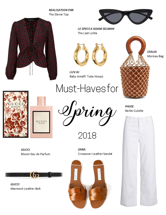 Spring & Summer Must-Haves 2018 A Style Alike Fashion