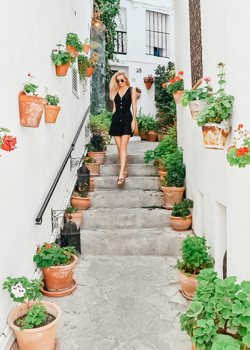 What I Wore on Vacation | Summer 2018 | Mango Linen playsuit | A Style Alike