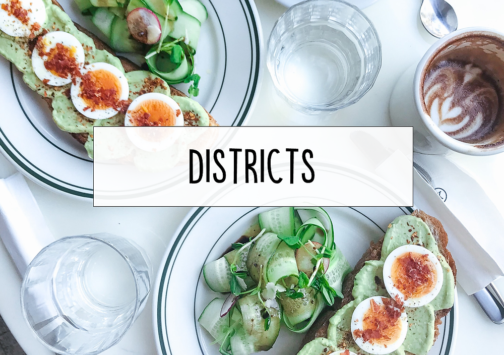 Taipei Districts | Taipei Cafe and Restaurant Directory | Taipei Food | A Style Alike