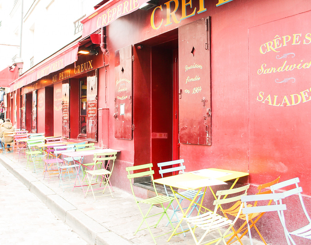 Montmartre Crepe Café lA Guide to Paris l Travel Guide Paris l Week in Paris l A Style Alike