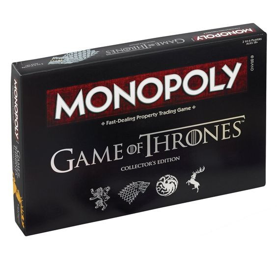 Christmas Gifts for Him 2017 MONOPOLY Game of Thrones