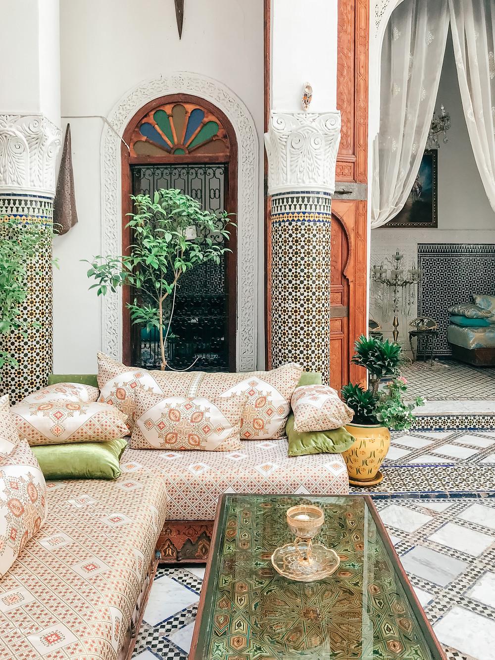 Riad Dar Skalli | Fes | A Guide to Morocco | A Style Alike