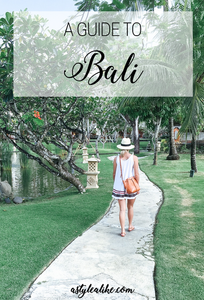 A Guide to Bali