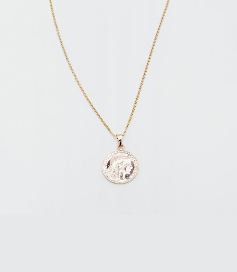 RELIQUIA Mini Lucky Coin Pendant necklace | 8 Most-Worn Jewelry Pieces | Fashion | A Style Alike