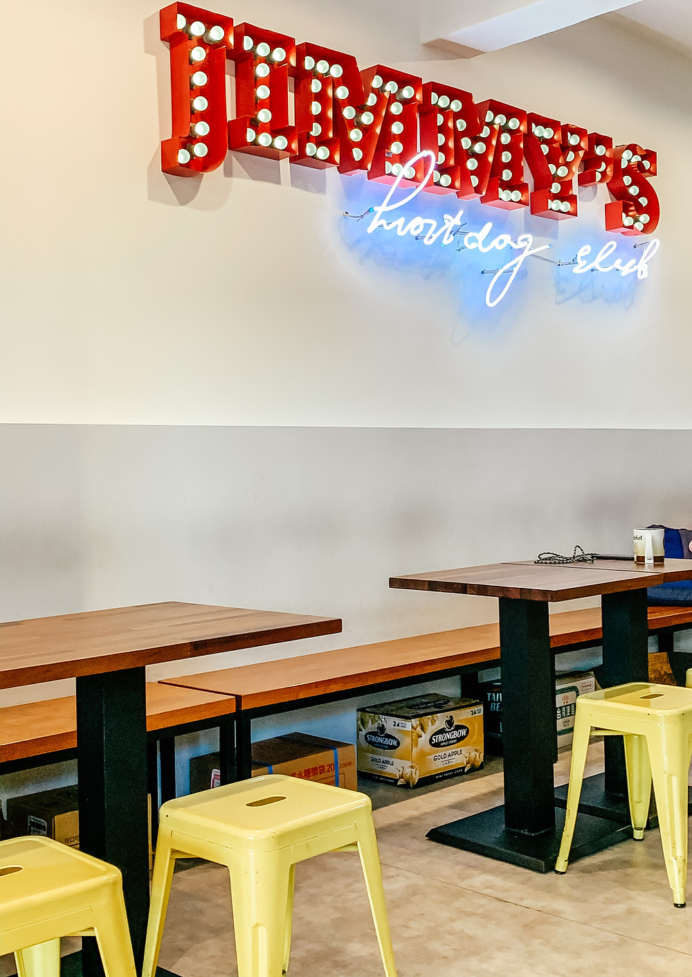 Jimmy's Hot Dog Club Taipei (A Style Alike)