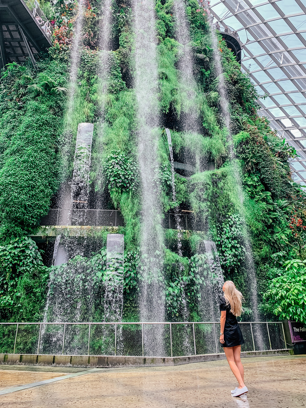 A Guide to Singapore | Cloud Forest Gardens by the Bay | A Style Alike