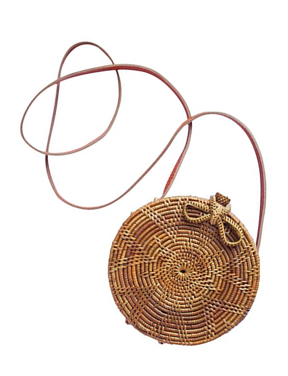 Round woven basket crossbody bag | Best Bag Trends of Spring/Summer 2018 | A Style Alike